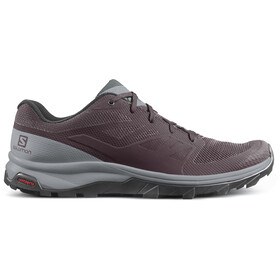 Salomon OUTline Shoes Dame winetasting/quarry/green gables